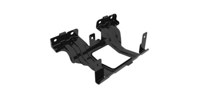 Single Piece Fuse Panel Mounting Bracket